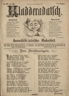 Kladderadatsch, 41. Jahrgang, 18. November 1888, Nr. 52/53