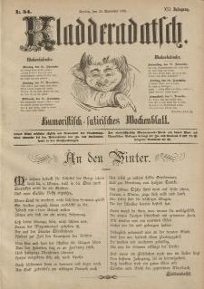Kladderadatsch, 41. Jahrgang, 25. November 1888, Nr. 54