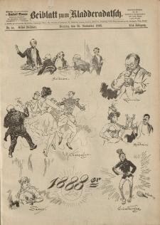 Kladderadatsch, 41. Jahrgang, 25. November 1888, Nr. 54 (Beiblatt)