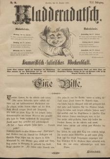 Kladderadatsch, 42. Jahrgang, 13. Januar 1889, Nr. 2