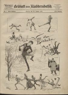 Kladderadatsch, 42. Jahrgang, 20. Januar 1889, Nr. 3 (Beiblatt)