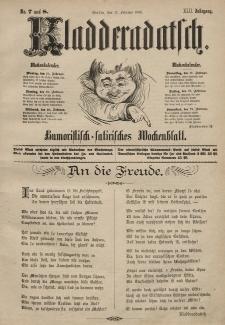 Kladderadatsch, 42. Jahrgang, 17. Februar 1889, Nr. 7/8
