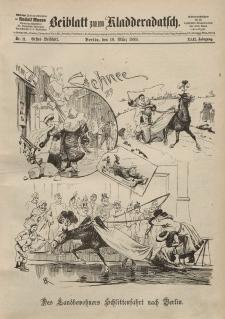 Kladderadatsch, 42. Jahrgang, 10. März 1889, Nr. 11 (Beiblatt)