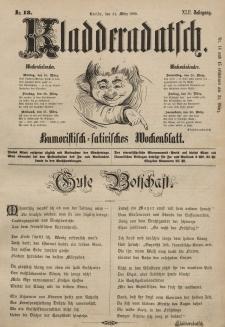 Kladderadatsch, 42. Jahrgang, 24. März 1889, Nr. 13