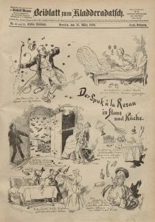 Kladderadatsch, 42. Jahrgang, 31. März 1889, Nr. 14/15 (Beiblatt)