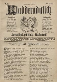 Kladderadatsch, 42. Jahrgang, 18. April 1889, Nr. 18