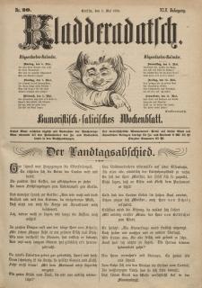 Kladderadatsch, 42. Jahrgang, 5. Mai 1889, Nr. 20
