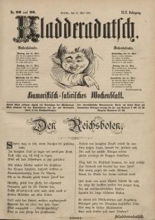 Kladderadatsch, 42. Jahrgang, 19. Mai 1889, Nr. 22/23