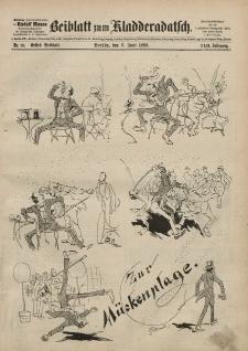 Kladderadatsch, 42. Jahrgang, 9. Juni 1889, Nr. 26 (Beiblatt)
