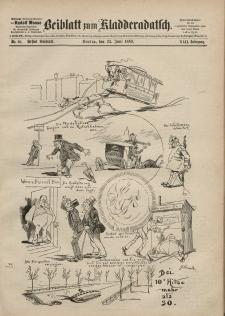 Kladderadatsch, 42. Jahrgang, 23. Juni 1889, Nr. 28 (Beiblatt)