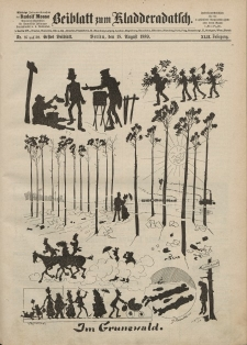 Kladderadatsch, 42. Jahrgang, 18. August 1889, Nr. 37/38 (Beiblatt)