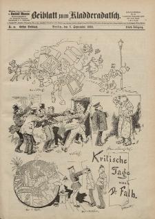 Kladderadatsch, 42. Jahrgang, 8. September 1889, Nr. 41 (Beiblatt)