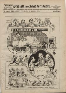 Kladderadatsch, 42. Jahrgang, 29. September 1889, Nr. 44/45 (Beiblatt)