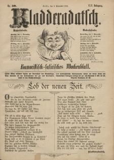 Kladderadatsch, 42. Jahrgang, 3. November 1889, Nr. 50