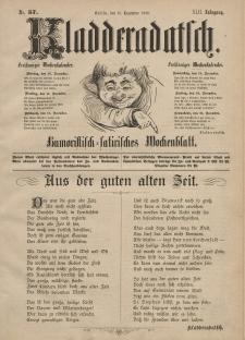 Kladderadatsch, 42. Jahrgang, 15. Dezember 1889, Nr. 57