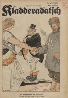 Kladderadatsch, 71. Jahrgang, 13. Januar 1918, Nr. 2