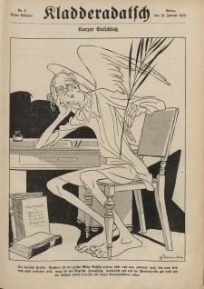 Kladderadatsch, 71. Jahrgang, 13. Januar 1918, Nr. 2 (Beiblatt)