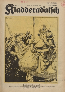 Kladderadatsch, 71. Jahrgang, 3. Februar 1918, Nr. 5