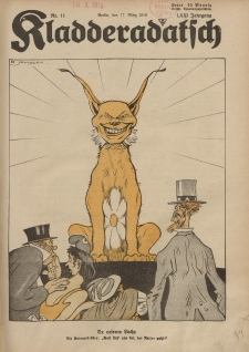 Kladderadatsch, 71. Jahrgang, 17. März 1918, Nr. 11