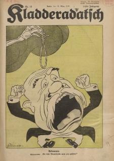 Kladderadatsch, 71. Jahrgang, 24. März 1918, Nr. 12