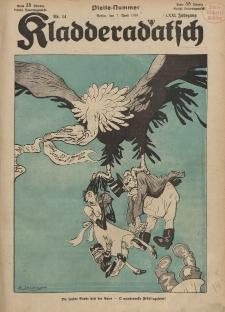 Kladderadatsch, 71. Jahrgang, 7. April 1918, Nr. 14