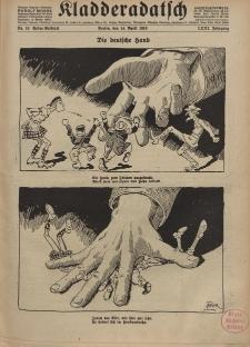 Kladderadatsch, 71. Jahrgang, 14. April 1918, Nr. 15 (Beiblatt)