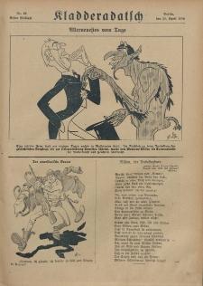Kladderadatsch, 71. Jahrgang, 21. April 1918, Nr. 16 (Beiblatt)
