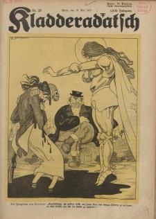 Kladderadatsch, 71. Jahrgang, 19. Mai 1918, Nr. 20