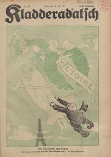 Kladderadatsch, 71. Jahrgang, 23. Juni 1918, Nr. 25