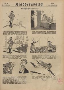 Kladderadatsch, 71. Jahrgang, 23. Juni 1918, Nr. 25 (Beiblatt)