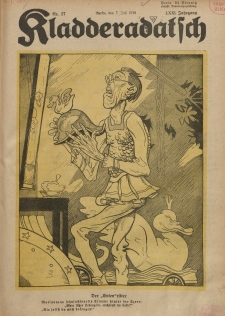 Kladderadatsch, 71. Jahrgang, 7. Juli 1918, Nr. 27