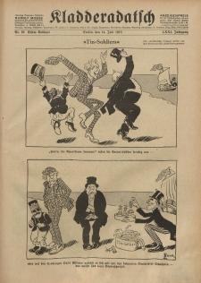 Kladderadatsch, 71. Jahrgang, 14. Juli 1918, Nr. 28 (Beiblatt)