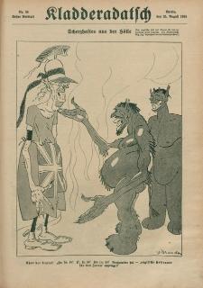 Kladderadatsch, 71. Jahrgang, 25. August 1918, Nr. 34 (Beiblatt)