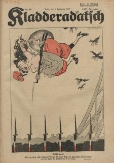 Kladderadatsch, 71. Jahrgang, 8. September 1918, Nr. 36