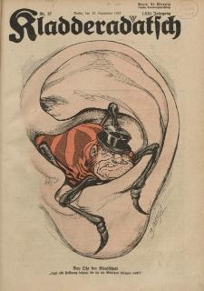 Kladderadatsch, 71. Jahrgang, 15. September 1918, Nr. 37