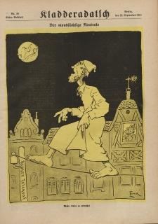Kladderadatsch, 71. Jahrgang, 22. September 1918, Nr. 38 (Beiblatt)