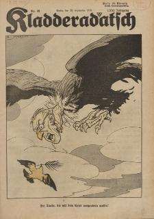 Kladderadatsch, 71. Jahrgang, 29. September 1918, Nr. 39