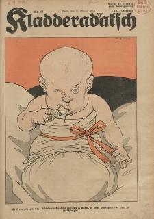 Kladderadatsch, 71. Jahrgang, 27. Oktober 1918, Nr. 43