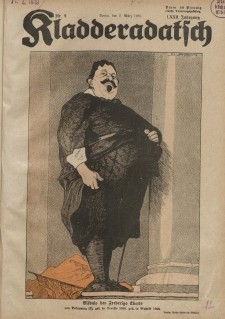 Kladderadatsch, 72. Jahrgang, 2. März 1919, Nr. 9
