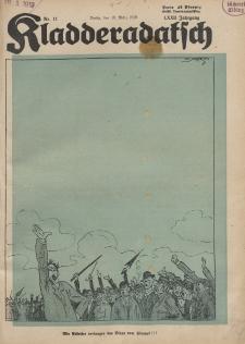 Kladderadatsch, 72. Jahrgang, 16. März 1919, Nr. 11