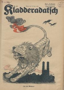 Kladderadatsch, 72. Jahrgang, 20. April 1919, Nr. 16