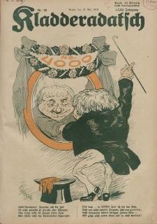Kladderadatsch, 72. Jahrgang, 18. Mai 1919, Nr. 20
