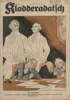Kladderadatsch, 72. Jahrgang, 15. Juni 1919, Nr. 24
