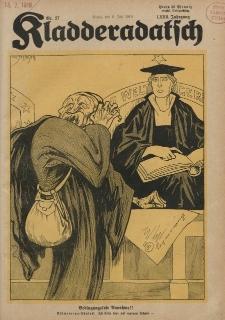 Kladderadatsch, 72. Jahrgang, 06. Juli 1919, Nr. 27