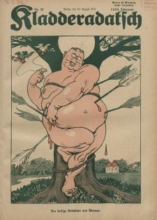 Kladderadatsch, 72. Jahrgang, 10. August 1919, Nr. 32
