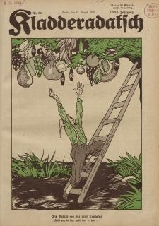Kladderadatsch, 72. Jahrgang, 31. August 1919, Nr. 35