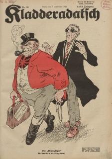 Kladderadatsch, 72. Jahrgang, 7. September 1919, Nr. 36