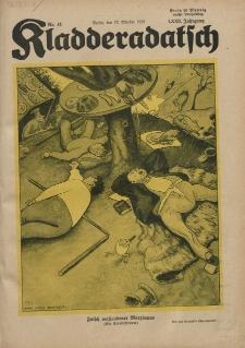 Kladderadatsch, 72. Jahrgang, 12. Oktober 1919, Nr. 41
