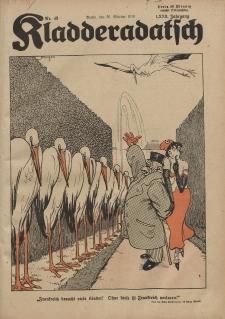 Kladderadatsch, 72. Jahrgang, 26. Oktober 1919, Nr. 43