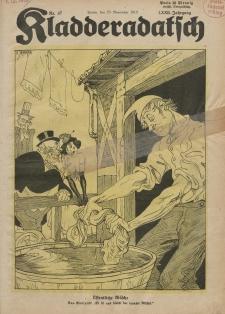 Kladderadatsch, 72. Jahrgang, 23. November 1919, Nr. 47